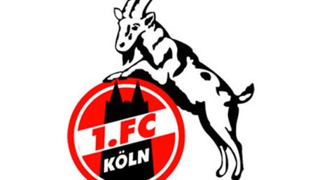 Das Logo des Fußball-Zweitligisten 1. FC Köln.