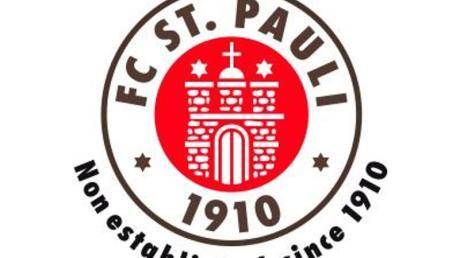 Das Logo des Fußball-Zweitligisten FC St. Pauli.