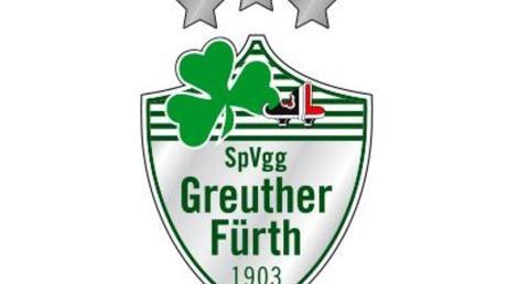 Das Logo des Fußball-Zweitligisten SpVgg Greuther Fürth.