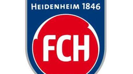 Das Logo des Fußball-Zweitligisten 1. FC Heidenheim 1846.