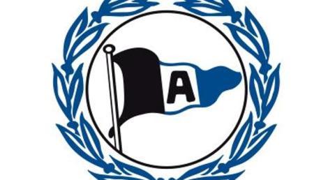 Das Logo des Fußball-Zweitligisten Arminia Bielefeld.