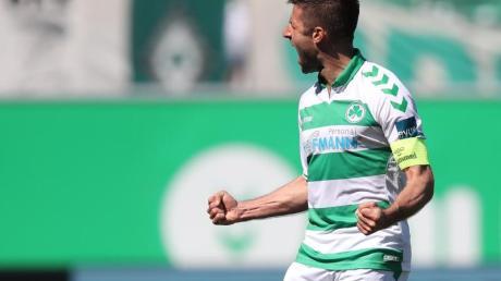 Hat bei der SpVgg Greuther Fürth um ein Jahr verlängert: Marco Caligiuri.