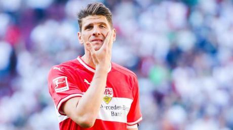 Mario Gomez ist mit dem VfB Stuttgart in die 2. Liga abgestiegen.