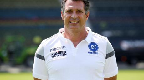 Hat seinen Vertrag in Karlsruhe verlängert: Alois Schwartz.