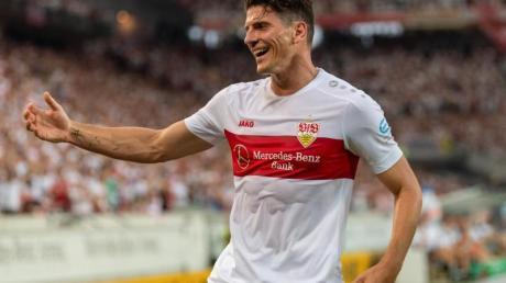 Konnte nicht mit der Mannschaft trainieren: VfB-Stürmer Mario Gomez.