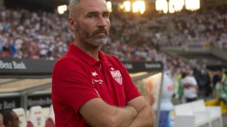 Hat eine klare Meinung zur Causa Jatta:VfB-Coach Tim Walter.