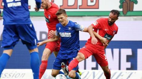 Der Karlsruher SC und der 1. FC Heidenheim trennten sich 1:1. Foto: Uli Deck