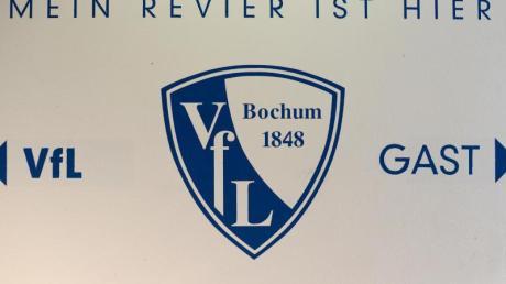 Auf dem Logo des VfL Bochum ist das Gründungsjahr des Vereins klar zu erkennen: 1848.