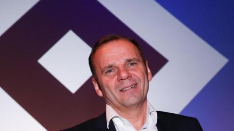 Mächtiger Mann beim HSV: Bernd Hoffmann.