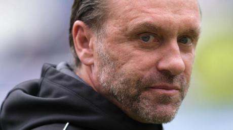 Stieg mit Hannover in die 2. Liga ab: Ex-Coach Thomas Doll. Foto: Peter Steffen/dpa