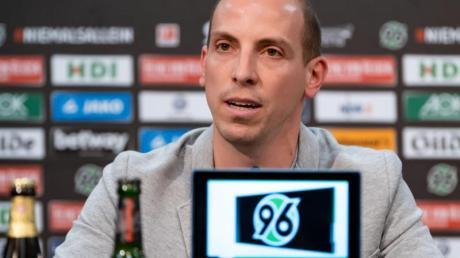 Der neue Sportdirektor von Hannover 96, Jan Schlaudraff.