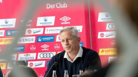 Jens Keller ist der neue Trainer des 1. FC Nürnberg. Foto: Daniel Karmann/dpa