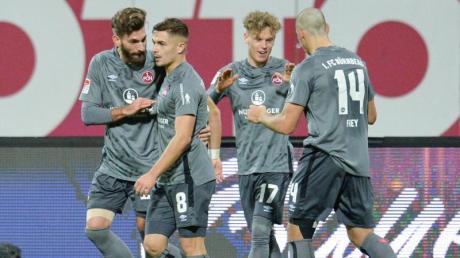 Der 1. FC Nürnberg in der 2. Liga: Der Spieltag wurde verschoben.