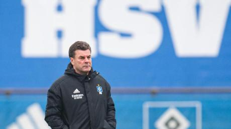 Dieter Hecking will mit dem HSV wieder in die Bundesliga aufsteigen.