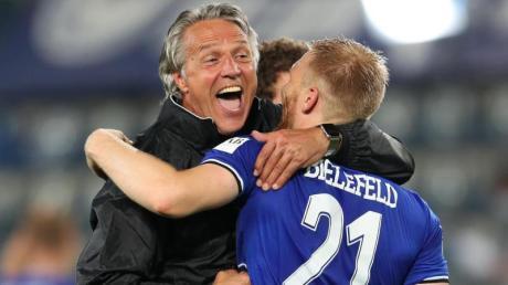 Will mit Bielefeld auch in der Bundesliga ein gutes Bild abgeben: Arminia-Coach Uwe Neuhaus.
