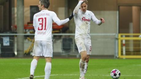 Zweitligist Holstein Kiel hat den Sprung auf den zweiten Tabellenplatz verpasst.