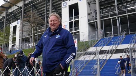 Der neue Trainer des Hamburger SV: Horst Hrubesch übernimmt die Mannschaft bis zum Saisonende.