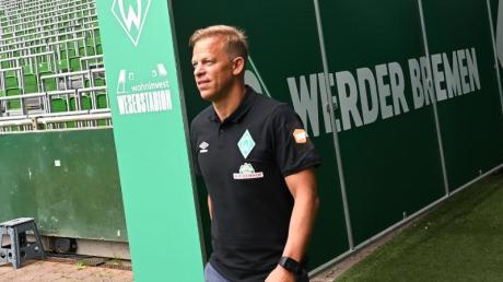 «Wir dürfen das Ziel Wiederaufstieg nicht nach vorne stellen», sagt der neue Werder-Trainer Markus Anfang.