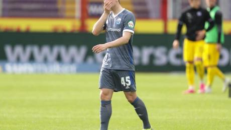 Der Hamburger SV muss vorerst auf Robin Meißner verzichten.