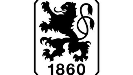 Das Logo des Fußball-Zweitligisten TSV 1860 München e.V.
