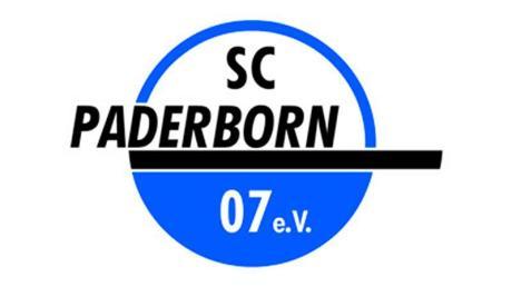 Das Logo des Fußball-Zweitligisten SC Paderborn.
