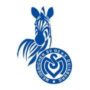 Das Logo des Fußball-Zweitligisten MSV Duisburg.
