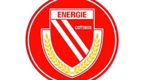 Das Logo des Fußball-Zweitligisten FC Energie Cottbus