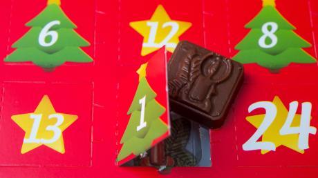 Von 1 bis 24 fiebern: Und wenn's auch nur ein Stück Schokolode gibt...