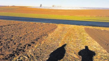 Bei einem winterlichen Spaziergang nahe Inchenhofen sahen die Felder kürzlich noch so aus. Manche waren bereits mit Folien bedeckt, sprich beherbergen Tunnelsysteme für den Spargel darunter, andere warten auf das Ende der kalten Jahreszeit, bis sie wieder bewirtschaftet werden.