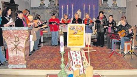 Zum Weltgebetstag wurde in Todtenweis ein Gottesdienst mit einer Textvorlage aus Chile gefeiert.