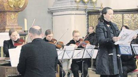 Das Konzert zum Fastensonntag in der Sielenbacher Wallfahrtskirche Maria Birnbaum.