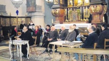 Viel Applaus gab es für die Mitwirkenden des Passionssingens in der Wallfahrtskirche Maria Birnbaum im vergangenen Jahr. Am Sonntag sollen die Besucher wieder in das Passionsgeschehen hineingezogen werden.