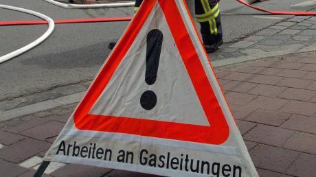 Gasalarm in Langenneufnach: Wegen einer defekten Leitung saßen 60 Haushalte im Kalten.
