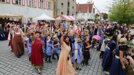 Im Jahr 2017 fand das bislang letzte Historische Marktfest in Pöttmes statt. Die Gemeinde verschob das nächste Historische Marktfest nun erneut um ein Jahr.