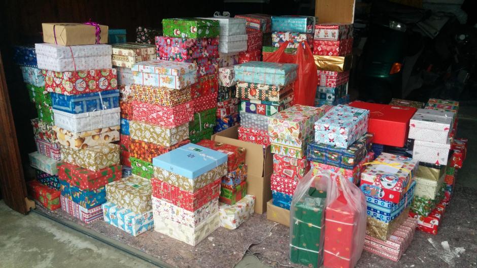 Abgabestellen Weihnachten Im Schuhkarton.Aktion Auf Weihnachtlicher Mission Nachrichten Aichach