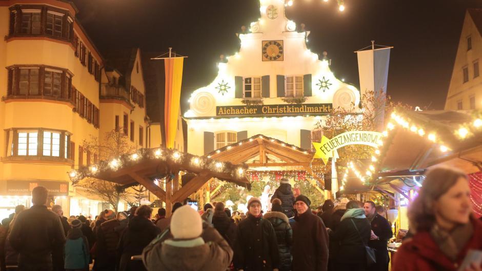 Weihnachtsmarkt Aichach.Bilanz Rekordbesuch Beim Aichacher Christkindlmarkt Nachrichten