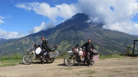 Eine Motorrad Reise durch Südamerika machte Franz Grieser aus Landmannsdorf (Gemeinde Adelzhausen. Gemeinsam mit Ralf Ulber (Aichach-Klingen). Die beiden Reisegefährten legten in sieben Wochen in sechs Ländern 13 000 Kilometer zurück.