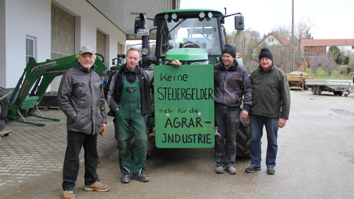 landwirtschaft mit dem traktor zur agrardemo bis nach berlin nachrichten aichach. Black Bedroom Furniture Sets. Home Design Ideas