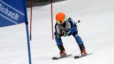 Als Skifahrer ist Ralph Bergmeier sehr erfolgreich.