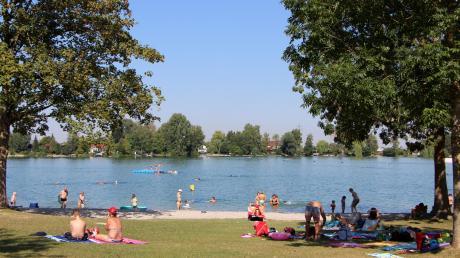 Im Friedberger See wurde ein Kind vermisst. (Archivfoto)