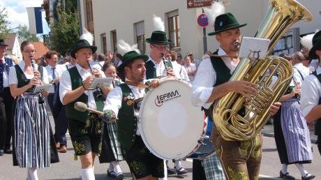 Der guten bayerischen Blasmusik wird auf der Festwoche in Thierhaupten ein breiter Raum eingeräumt. Auch in der 52. Auflage der Veranstaltungen hoffen die Organisatoren wieder auf bestens gelaunte Besucher. Archivbild