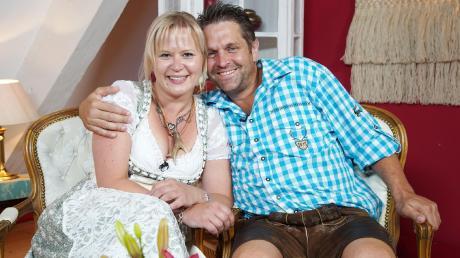 Stephan, 40, aus Sielenbach-Raderstetten hat sich auf dem Scheunenfest für die Friseurmeisterin Steffi, 36, entschieden.