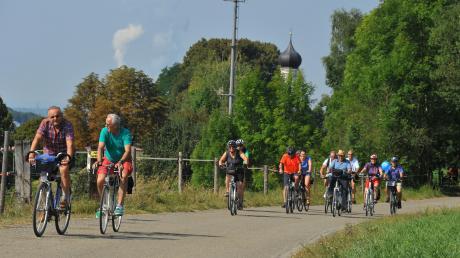 Zum Beispiel um den Ausbau des Paartal-Radwegs könnte sich der Verein kümmern.