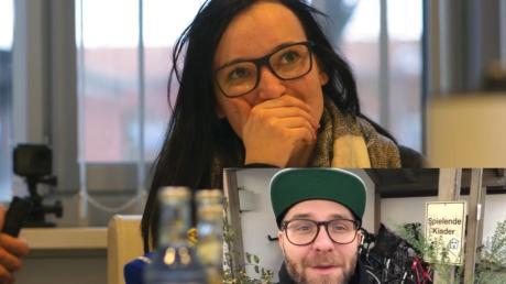 Katja Rupprecht aus Pöttmes hat den deutschen Popsänger Mark Forster getroffen. Er lud sie zu seinem Konzert ein.