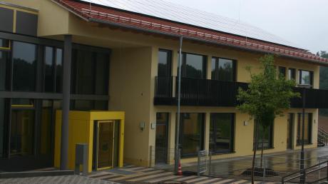 Die neue Kindertagesstätte in Obergriesbach. Die Einweihung im Sommer war ein Höhepunkt des Jahres.