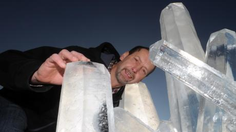 Eine Liveshow und einen Workshop veranstaltet Eiskünstler Klaus Grunenberg in Baar.