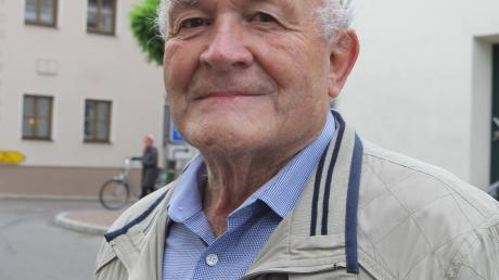 Zum 60. Mal als Pilger in Leahad: Josef Neumair, 82, aus Unterschneitbach.