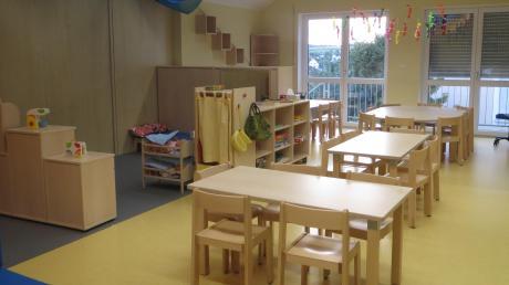 Mit der neuen vierten Kindergartengruppe ist das Kinderhaus Sonnenschein in Sielenbach voll ausgebucht. Der Gemeinderat besichtigte jetzt das umgebaute Obergeschoss.