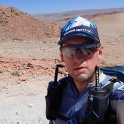 Der Oberbernbacher Viktor Reger lief 250 Kilometer durch die Atacam-Wüste in Chile.