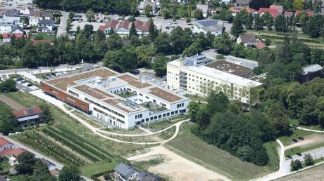 Die neue Tagesklinik für Psychiatrie wird an das Aichacher Krankenhaus angebunden.
